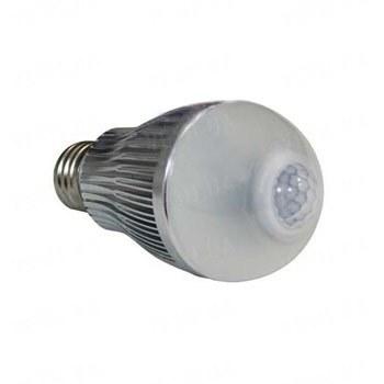 Светодиодная LED лампа 6W со встроенным инфракрасным датчиком движения для экономии до 90% электроэнергии (модель GOXI-003IR-6WB)