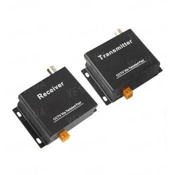 Активный одноканальный комплект передачи видео сигнала по витой паре UTP (видео балун) на расстояние до 1500 метров (мод. ATR1-05 kit)