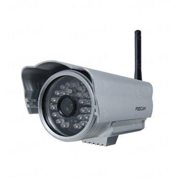 Профессиональная уличная наружная беспроводная Wi Fi сетевая IP видео камера (модель FOSCAM FI 8904W)