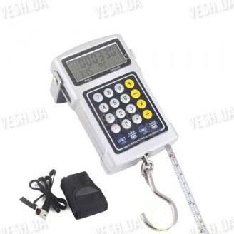 7 в 1 профессиональные электронные подвесные весы - кантер с макс. весом 50 кг и шагом измерения 20 грамм с функцией тары, расчёта цены и т.д.