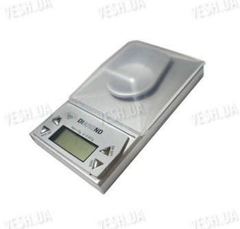 Супер высокоточные бюджетные портативные электронные цифровые ювелирные весы с дискретностью измерения 0,001 грамма и максимальным весом 10 грамм (модель SW-10/0001)