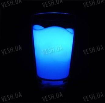 7-ми цветный ночной светильник в виде стакана молока с автоматически переливающей подсветкой