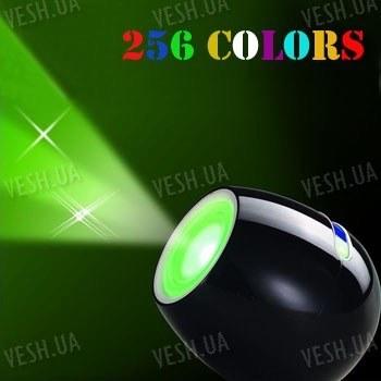 256-ти цветный светодиодный LED фонарь - подсветка с сенсорной полосой подбора цвета свечения для создания романтической атмосферы в доме