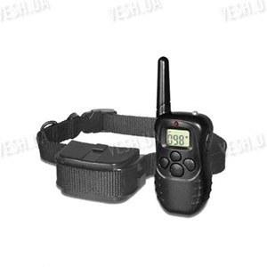 Собачий ошейник - электрошокер с дистанционным управлением с LCD дисплеем для контроля, тренировки и дрессировки собак на расстоянии до 300 метров
