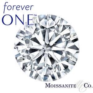 Муассанит Charles & Colvard FOREVER ONE бриллиантовая огранка