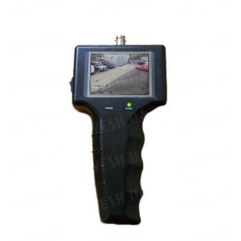 Автономный портативный тестер для охранных CCTV камер 2.5 дюймовым LCD монитором и возможностью питания камер 12 V (мод. KY-2506)