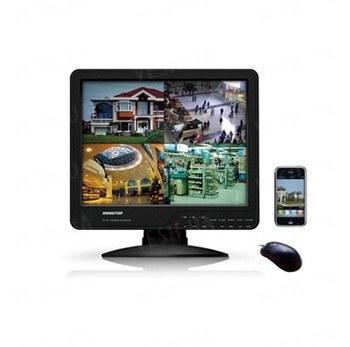 8-ми канальный гибридный 2 в 1 LCD COMBO DVR видеорегистратор с 15-ти дюймовым монитором с записью в realtime c разрешением D1 (модель KT1508L)