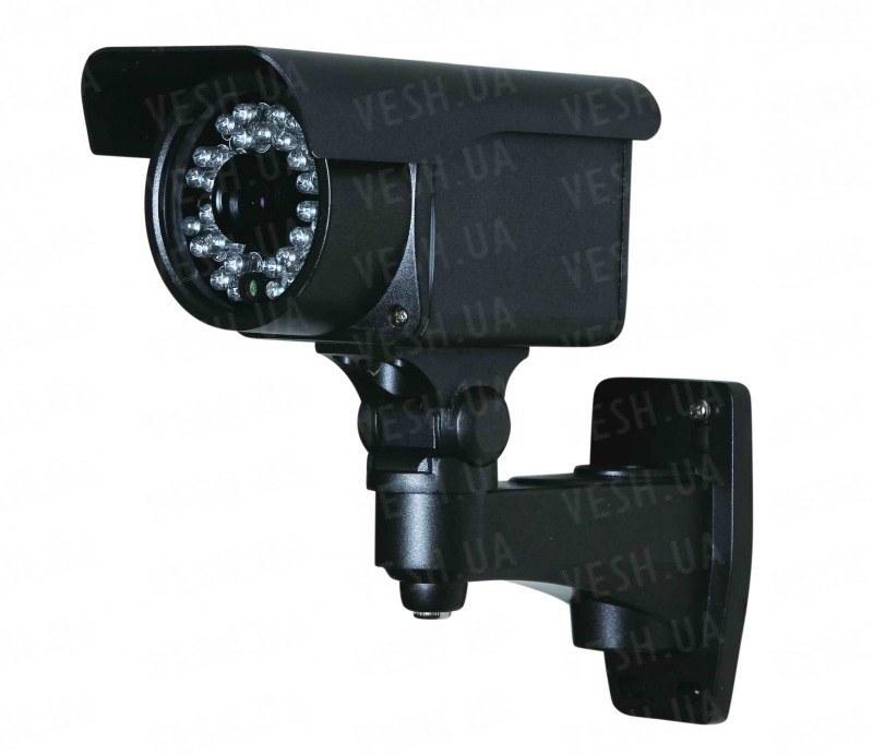 """Уличная влагозащитная CCTV цветная охранная камера видеонаблюдения 1/3""""COLOR SONY, 500TVL, 0 LUX, ИК до 25 метров (модель LIE30)"""