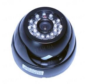 Цветная купольная видеокамера в антивандальном корпусе с ИК подсветкой, 1/3 Sony, 520TVL (модель 426 AS). !!!ЦЕНА СНИЖЕНА!!!
