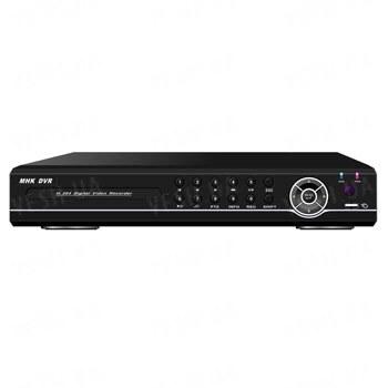 Стационарный 4-х канальный H.264 видеорегистратор realtime D1, 4 аудиовхода, VGA, сеть, PTZ, USB, мышь (модель DVR 8304AV)