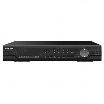 Стационарный 16-ти канальный H.264 видеорегистратор с одновременной записью 16 CH в D1, 16 аудиовходов, VGA, сеть, PTZ, USB, мышь (модель DVR 9316AV)