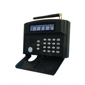 Охранная GSM сигнализация с экраном и клавиатурой, с поддержкой 24-х беспроводных и 2-х проводных охранных зон (модель G50BE)