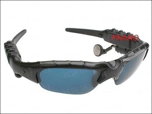 Солнцезащитные мультимедийные шпионские очки со встроенной Bluetooth гарнитурой (мод. SBT-05)