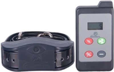 Собачий ошейник - электрошокер с дистанционным управлением с LCD дисплеем для контроля, тренировки и дрессировки собак на расстоянии до 650 метров