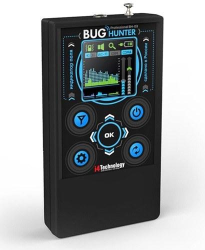 """Профессиональный детектор жучков и камер """"BugHunter Professional BH-03"""""""