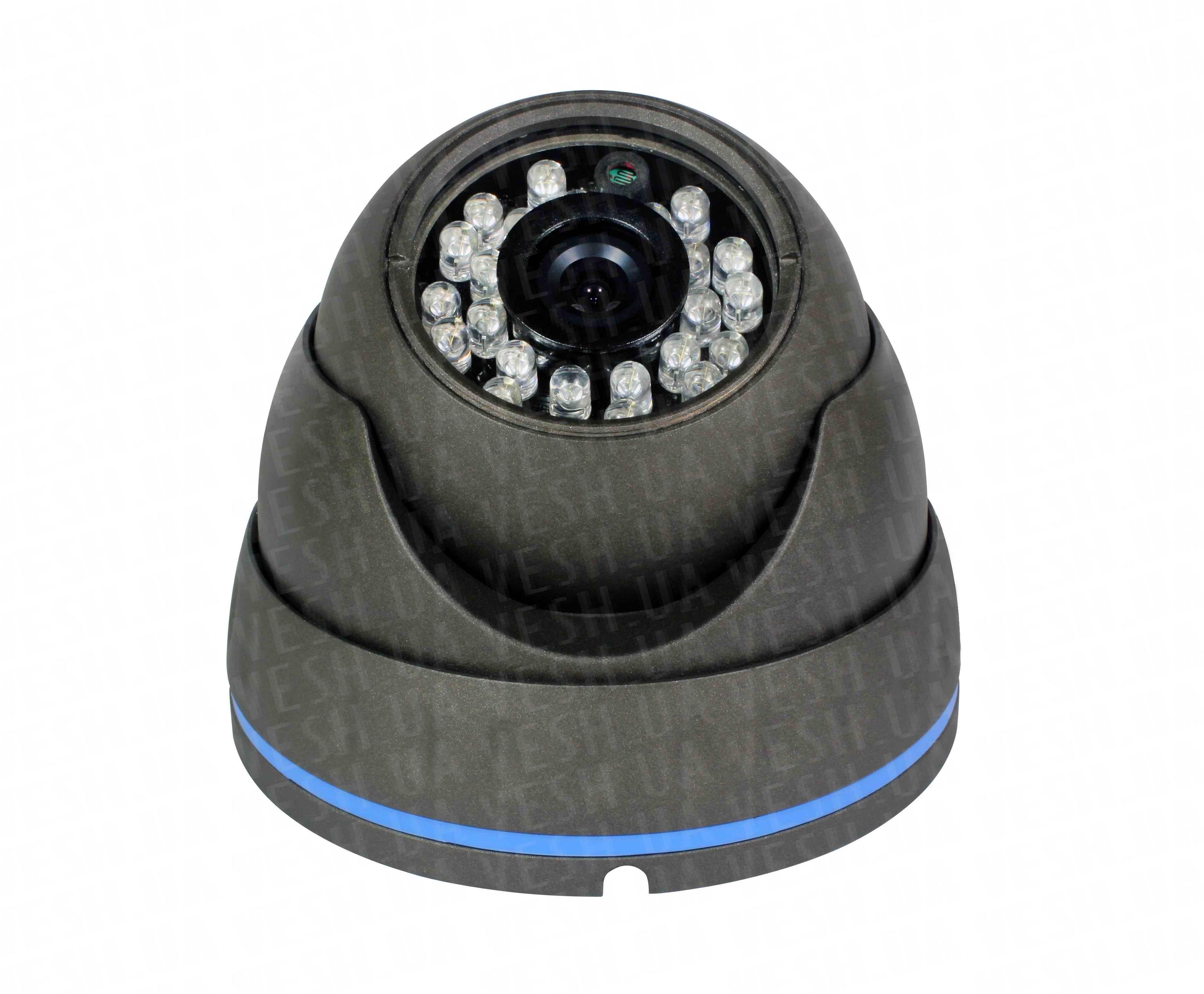 """Наружная купольная CCTV цветная охранная камера видеонаблюдения 1/3"""" COLOR SONY Super HAD II, 600 TVL, 0 LUX, ИK до 20 метров (модель NIRE600)"""