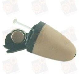 Беспроводный bluetooth микронаушник (длина - 7 мм) для экзаменов с  беспроводной bluetooth гарнитурой Элита-Люкс