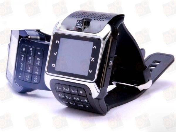 Стильные  GSM часы - мобильный телефон с 1.33 дюйма Touch screen экраном (модель EG100)