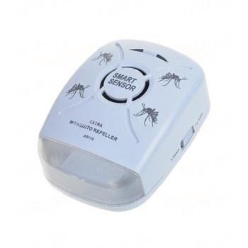 Высококачественный ультразвуковой отпугиватель комаров и насекомых на площади до 50 м2 (модель Smart Sensor AR 115)