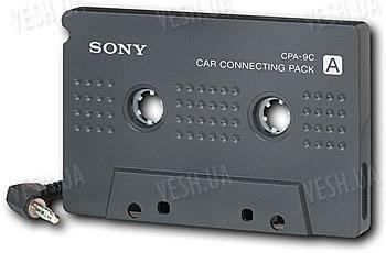 Sony CPA-9C кассета адаптер для автомагнитолы для (XM/iPad/iPod/iPhone2,3G,3GS,4)
