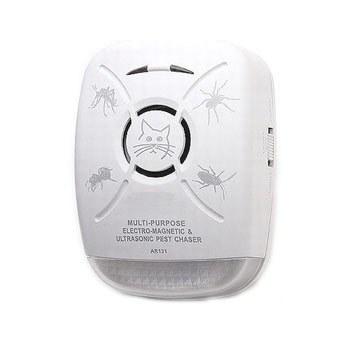 Интеллектуальный ультразвуковой отпугиватель тараканов и насекомых для помещений до 100 м2 (модель AR-131)