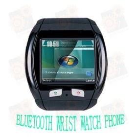 GSM часы - мобильный телефон с 1.66 touch screen дисплеем и blootooth гарнитурой (модель Q09)