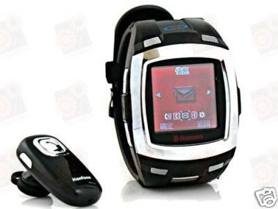 Недорогие GSM часы - мобильный телефон с 1.33 tourch screen дисплеем и bluetooth гарнитурой (модель P888)