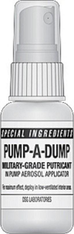 Препарат Pump-A-Dump с запахом экскрементов