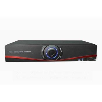 Профессиональный 3 в 1 мультигибридный 4-х канальный AHD видеорегистратор real time 720P с поддержкой аналоговых и цифровых IP камер ONVIF, NVR, 4 аудиовхода, VGA, HDMI, сеть, HDD до 3 Tb (модель AHD-773304)