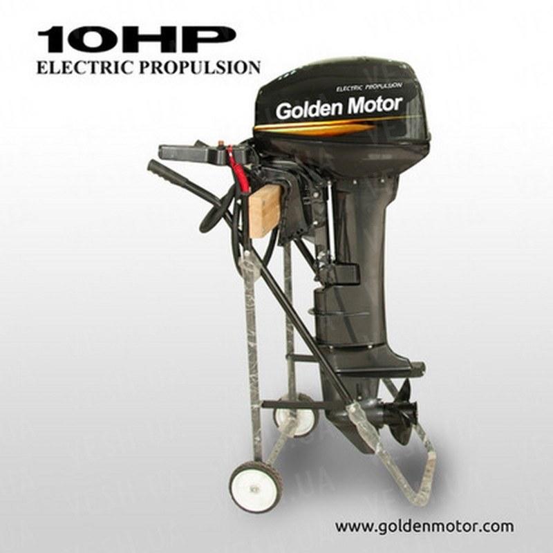 Лодочный электромотор EPO-10HP 10 л.с. 24В-48В