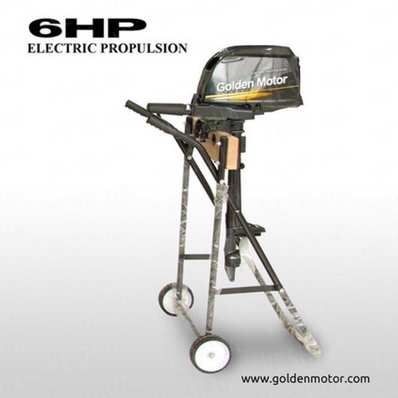 Лодочный электромотор EPO-06HP 6 л.с. 24В-48В