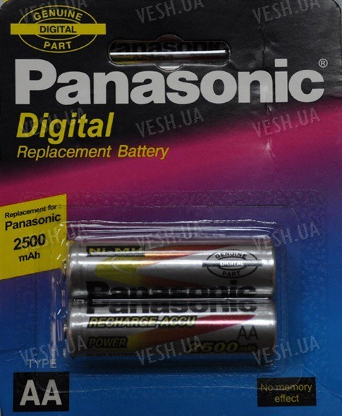 Аккумулятор AA Panasonic 2500 mAh