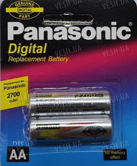 Аккумулятор AA Panasonic 2700 mAh