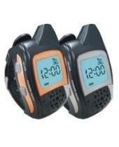 Комплект из 2-х раций Walkie Talkie в виде часов дальностью связи до 3000 метров и временем работы в режиме разговора - до 12 часов (модель RD-077)