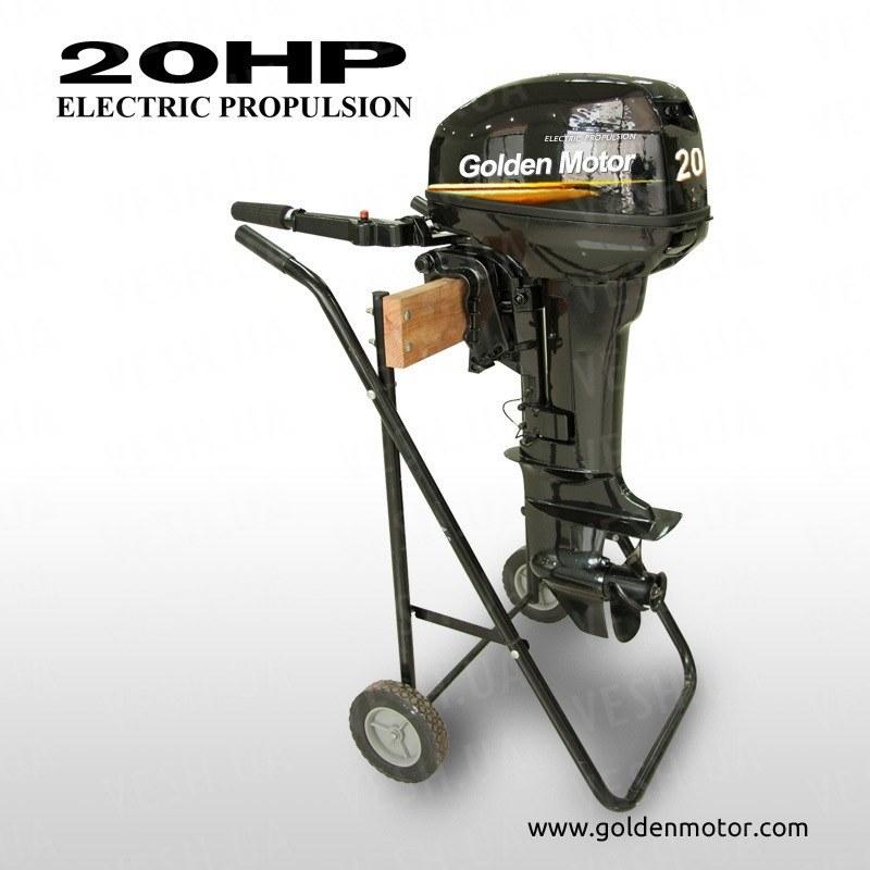 Лодочный электромотор EPO-20HP 20 л.с. 24В-48В