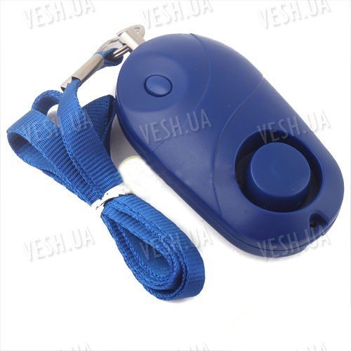 Личная сирена (сигнализация) безопасности 120дБ с фонариком
