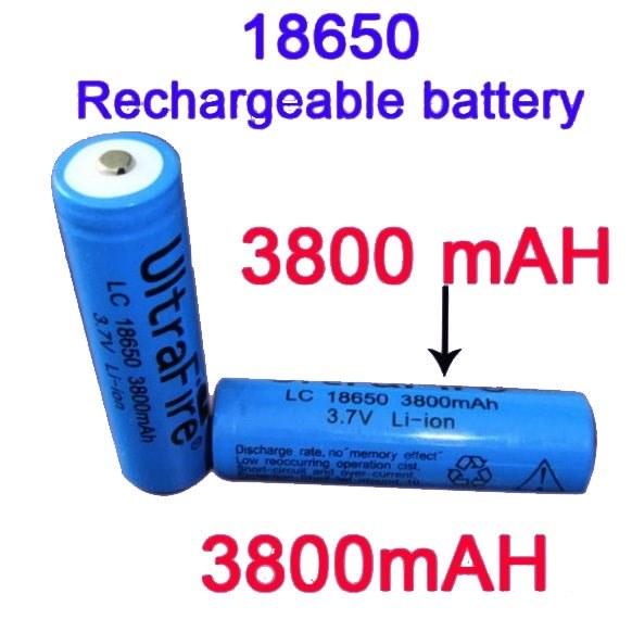 Аккумулятор 18650 3.7В 3800мАч защищенный