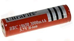 Аккумулятор 18650 Li-Ion 3000мАч, защищенный