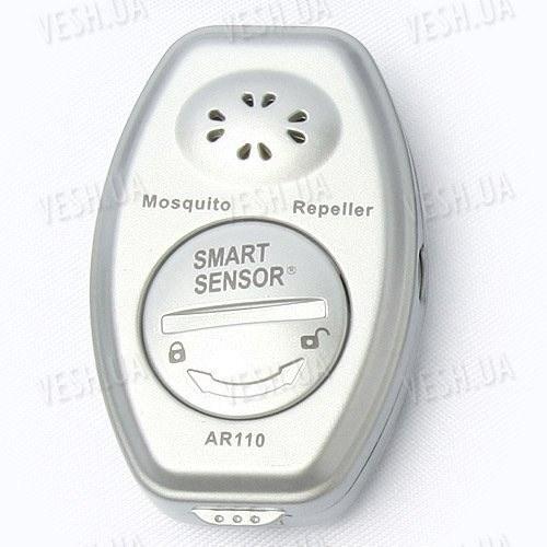 Ультразвуковой компактный брелок репеллент(отпугиватель) от комаров и москитов SmartSensor  (модель AR110)