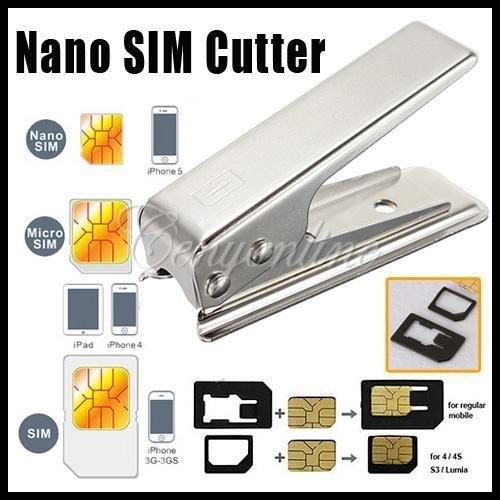 Степлер для обрезания sim-карт под nanoSim для iPhone 5