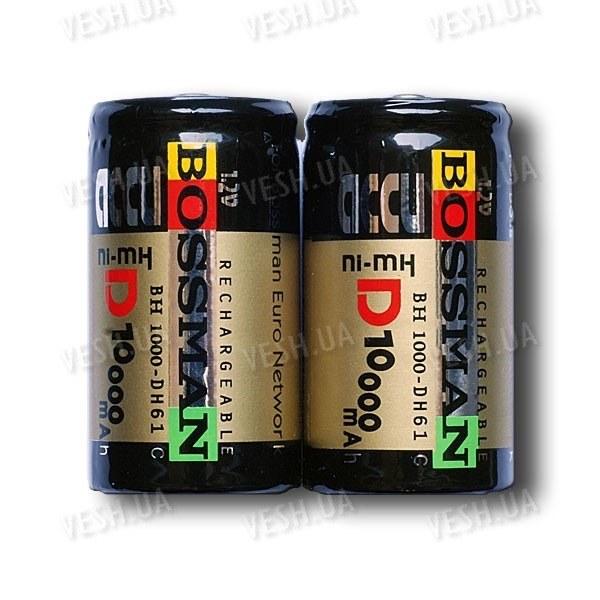Аккумулятор R20 D Bossman 10000 mAh Ni-Mh