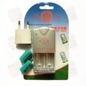 Зарядное устройство для аккумуляторов CR2 и CR123A