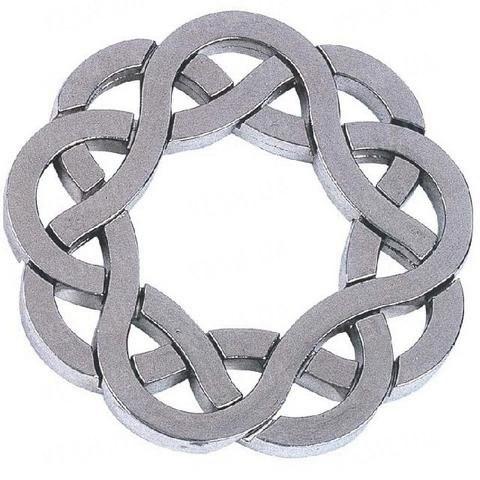 4* Подставка (Cast Puzzle Coaster)
