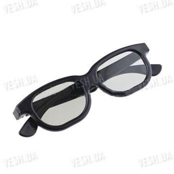 Пластиковые 3D очки с круговой поляризацией для просмотра 3D фильмов в кинотеатрах типа Imax