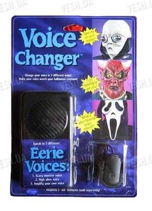 3-х режимный изменитель голоса, имметирующий пришельца, монстра и смерть - отличная вещь для розыграшей, праздников, хеллоуина (мод. VC-90H)