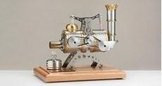 """Двигатель Стирлинга """"Stirling Engine HB5 - Power Plant"""" - Производство Германия Boehm Böhm"""