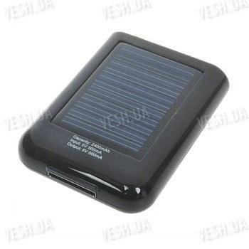 Дополнительная аккумуляторная батарея 2400 mAh со встроенной солнечной панелью для зарядки от солнца - специально для Iphone 4, 3GS, iPod, iTouch  - позволит Вам всегда оставаться на связи, даже без электричества