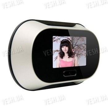 Цифровой автономный видеоглазок для двери с 2,5 дюймовым LCD монитором