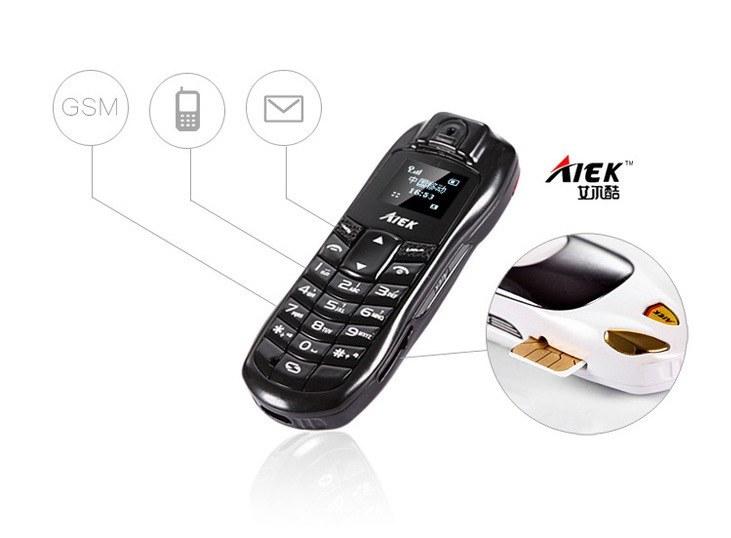 Самый маленький телефон в мире AIEK A9