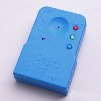 Компактный изменитель голоса для мобильных, стационарных телефонов, домофонов и громкоговорителей